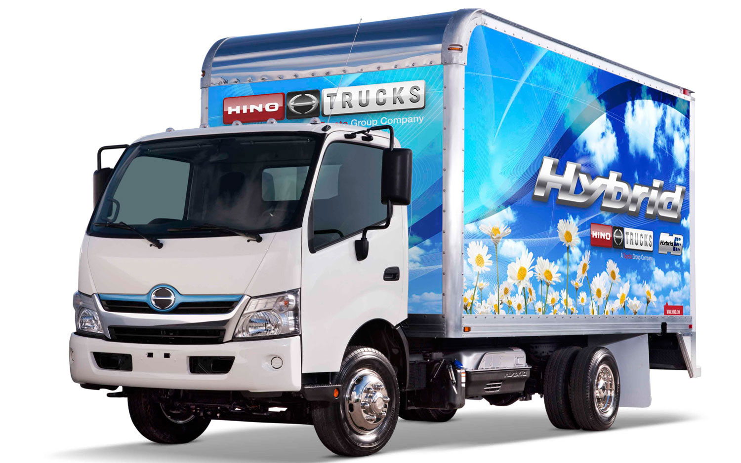 Hino Hybrid-electric 5-tonne truck
